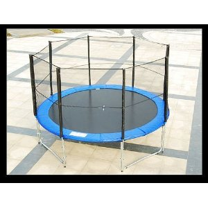 Aosom 12' Trampoline with Safty Net Enclosure Combo