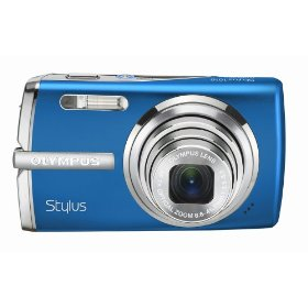 Olympus Stylus 1010 10.1MP Digital Camera with 7x Optical Dual Image Stabilized Zoom (Blue)