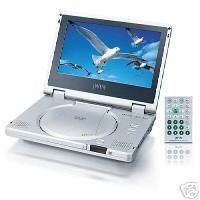 8-Inch Tft LCD Portable DVD Player with Progressive Scan