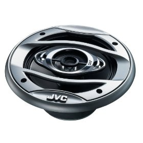JVC In-Vehicle CSHX647X 6.5-Inch 4-Way Coaxial Speaker (Pair, Black)