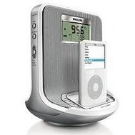 Philips Docking Entertainment System DC310 - Clock radio with iPod cradle