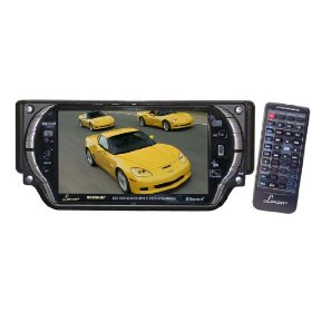 Lanzar SD55MUBT 5.4-Inch T-Feet Touchscreen DVD/VCD/CD/MP3/CD-R/USB/AM/FM/RDS Receiver with Bluetooth
