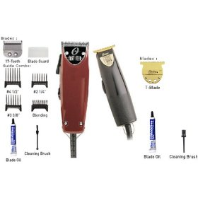 Oster Fast Feed Clipper & Finish-line Trimmer Combo