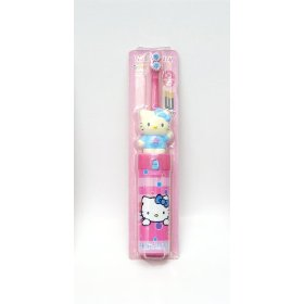 Zooth Hello Kitty Battery Operated Kids Power Toothbrush