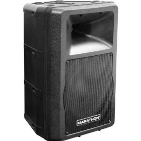 "Marathon MA-10P Active 10"" 2-WAY ABS Loudspeaker"