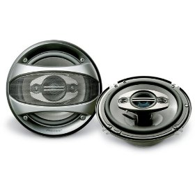 Pioneer TSA1683R 6.5-Inch 4-Way Car Speaker (Pair)