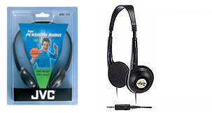 Jvc h35kf headphone