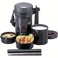 Tiger lwua170  lunch box insulated 1.7 liter black