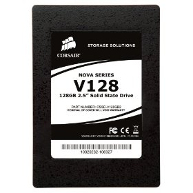 Corsair 128 GB Nova Series TRIM Supported 2.5 Inch Solid State Drive (SSD) CSSD-V128GB2-BRKT