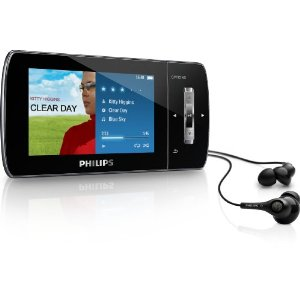 Philips GoGear Muse 16 GB MP3 Video Player with Month of Rhapsody Music and Free Audible Audiobook (Black)