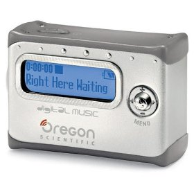 Oregon Scientific MP100/GY256C 256MB Pendant MP3 Player Grey