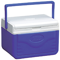 Coleman 5205a758g cooler blue with shield