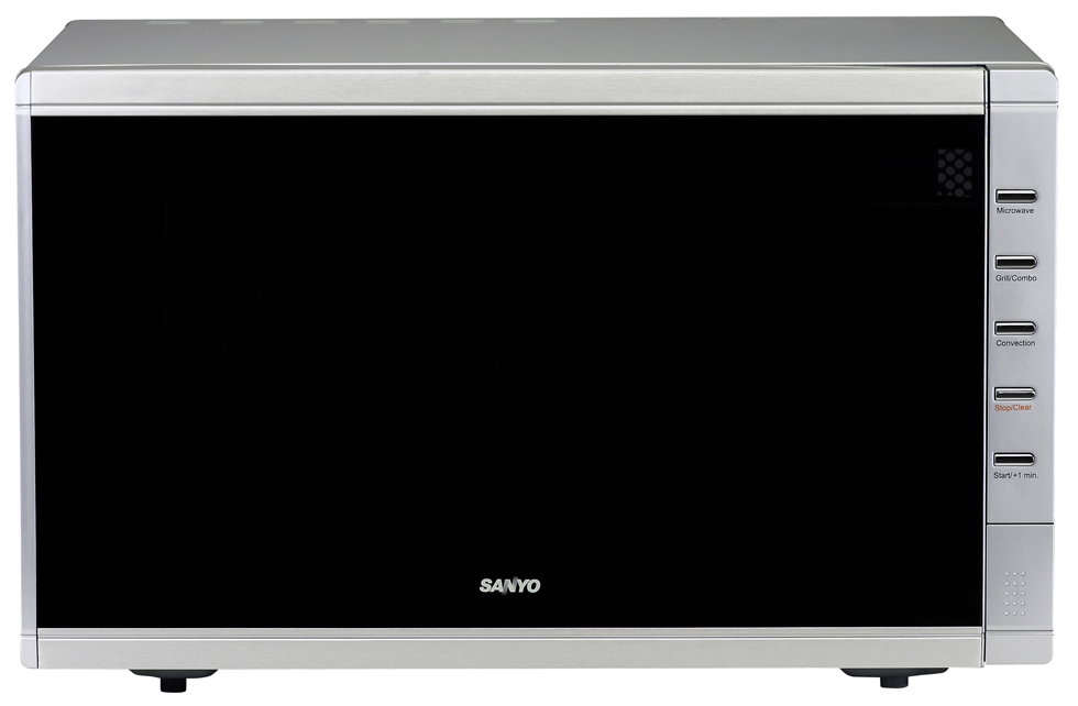 Sanyo emc6786v microwave 1.0cf convection grill 1400w tt