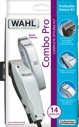 Wahl 79450 clipper 14pc steel blades hard case