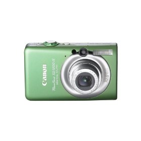 Canon PowerShot SD1200IS 10 MP Digital Camera with 3x Optical Image Stabilized Zoom and 2.5-inch LCD (Green)