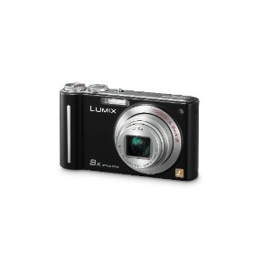 Panasonic Lumix DMC-ZR1 12.1MP Digital Camera with 8x POWER Optical Image Stabilized Zoom and 2.7 inch LCD (Black)