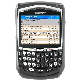 Blackberry 8707 Unlocked Phone with 3G, Quad-Band GSM and Full Qwerty Keyboard--International Version with No Warranty