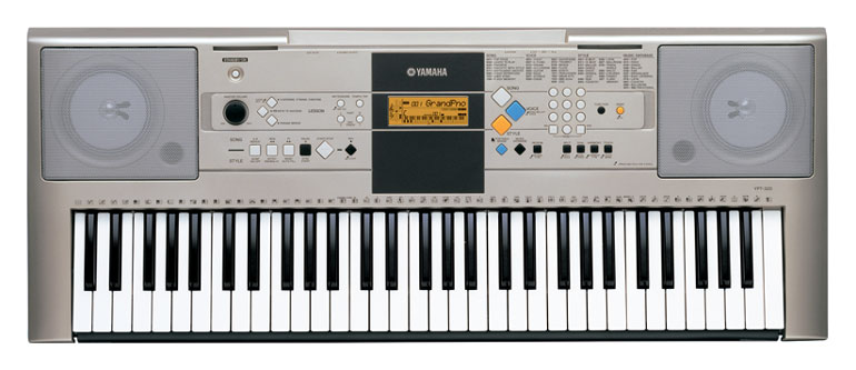 Yamaha ypt320ms keyboard full size 61note touch sensitive