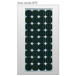 Siemens Solar SP75 / SP70 Replacement Solar Panel 80W - 36 High Efficiency Polycrystalline Cells.
