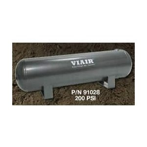 VIAIR VIAIR-91028 2-1/2 Gallon Air Tank - Six 1/4in NPT Ports 200 psi Rated