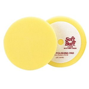 Meguiar's W8006 6.5-Inch Soft Buff Foam Polishing Pad