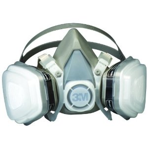 3M Dual Cartridge Respirator - Large