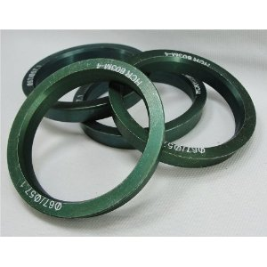Hub Centric Rings 67.00 - 57.10 Aluminum Hubcentric