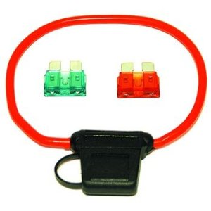 VIAIR VIAIR-92946 Fuse Holder For 30 To 40 AMP Fuses