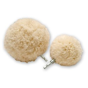 Lake Country Wool-Ball 3 inch & 5 inch Polishing Ball Combo