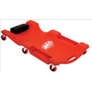 Advanced Tool Design Model  ATD-81050  Blow-Molded Red Mechanic's Creeper