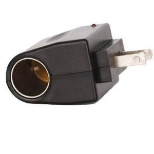 AC TO 12V DC 500MA CIGARETTE LIGHTER CONVERTER