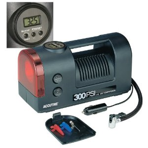 Accutire MS-5550 Digital 300 PSI 12V Air Compressor with Light