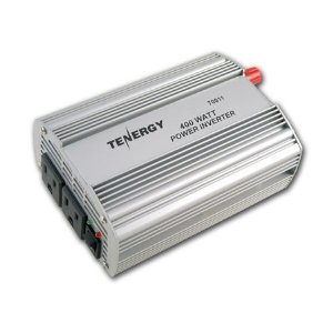 Tenergy 400W DC to AC Power Inverter with 2 AC Outlets