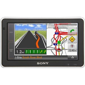 Sony NVU83T 4.8-Inch Widescreen Bluetooth Portable GPS Navigator