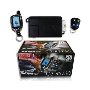 AutoPage LCD 2-Way Paging Remote Car Starter C3-RS730