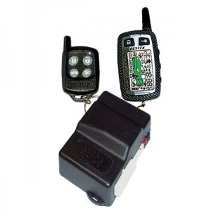 Astra ASTRA 1000RS-2W-1 Remote Starter with Keyless Entry (One LCD Remote and One 5-Button Remote)