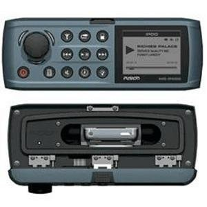 Fusion MS-IP500G iPod/AM/FM/ Sirrus Ready IP65 Rated 4 Zones Stereo Receiver (Grey)