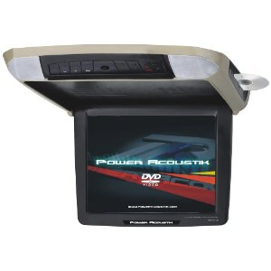 Power Acoustik PMD-121CMX 12.1-Inch 4:3 Overhead Monitor with Built-in DVD Player