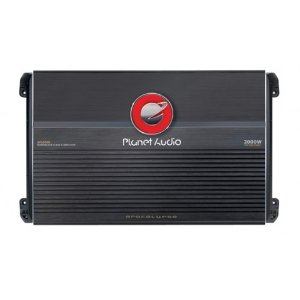 Planet Audio AP2000D 2000 Watts 1-OHM Stable Max Power Class D Monoblock Power Amplifier