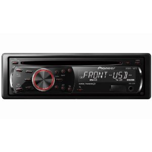 Pioneer DEH-22UB In-Dash CD/MP3/AAC/WMA/AM/FM Receiver with Front USB/Aux and Wireless Remote