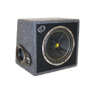 Kicker 07VC124 Single Comp 12-Inch 4-Ohm Subwoofer In Vented Box