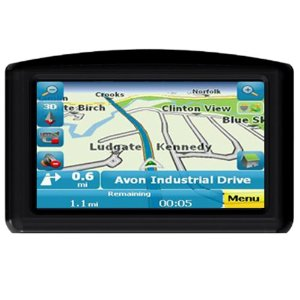 GPS For Dummies FD-420 4.3-inch Portable GPS Navigator
