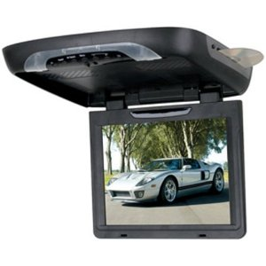Boss Audio BV12.1BGT Flip-Down 12.1-Inch Widescreen TFT Monitor with Built-In DVD Player