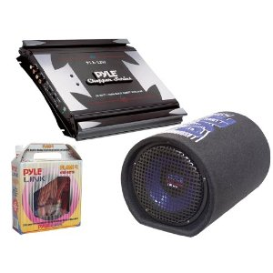 Pyle Powerful Amplifier/Subwoofer/Installation Package for Car/Truck/SUV