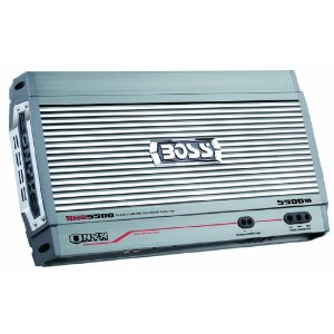 Boss NXD5500.1 5500 Watt Monoblock Class D Amplifier with Remote