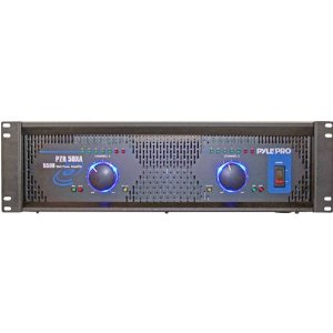 PYLE PRO PZR50XA 5500 Watt 2 Channel DJ Rack Mount Power Amplifier