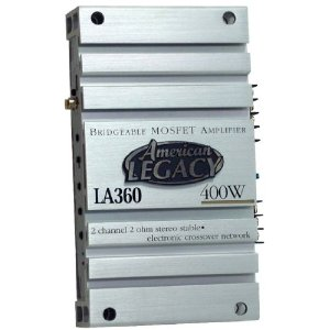 Legacy LA360 2 Channel 400 Watt Bridgeable Mosfet Amplifier