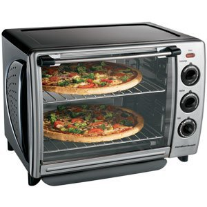 Hamilton Beach 31199R Countertop 1.1-Cubic-Foot Convection Oven with Optional Rotisserie