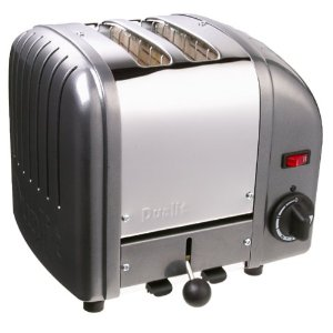 Dualit 2-Slice Toaster, Charcoal