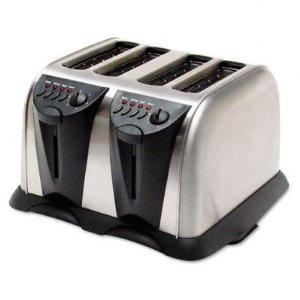 4-Slice Toaster,Crumb Tray,3-Prong Cord,Stainless Steel (CCETO110A) Category: Toasters and Toaster Ovens